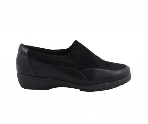 Zapato combi ante-negro