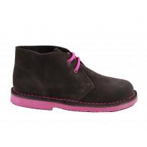 Bota safari  rosa-marrón niño - Benavente