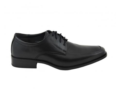 Zapato ceremonia de cordones negro - Benavente