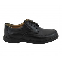 Zapato cordones negro - Benavente