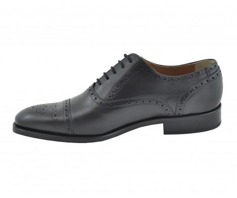 Zapato ceremonia  picado negro - Benavente