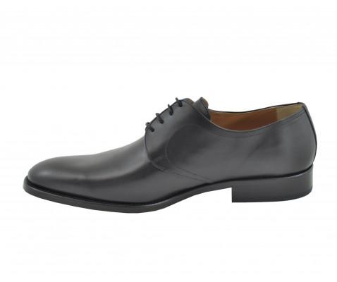 Zapato ceremonia especial novio piel negro - Benavente