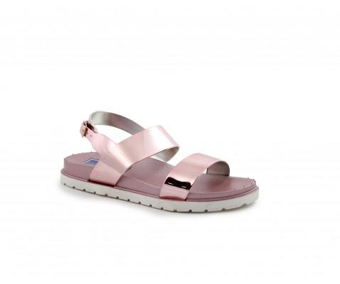 Sandalia plana rosa - Benavente