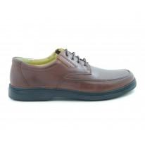 Zapato piel cómodo marrón - Benavente