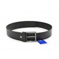 Cinturón hebilla herradura piel negro - Benavente
