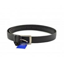 Cinturón grabado piel negro - Benavente