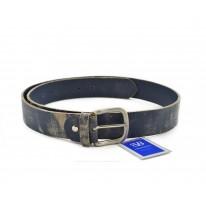 Cinturón piel envejecido azul - Benavente