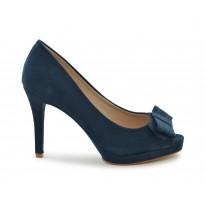 Zapato de vestir lazo azul