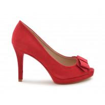 Zapato de vestir lazo rojo