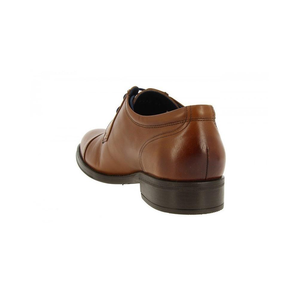 Cuero Vestir Zapato Fluchos De 8412 5jLR4A