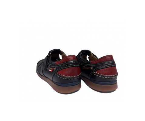 Sandalia piel Fluchos 9882 libano marino - Fluchos