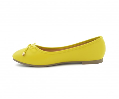 Bailarina planta foam amarilla