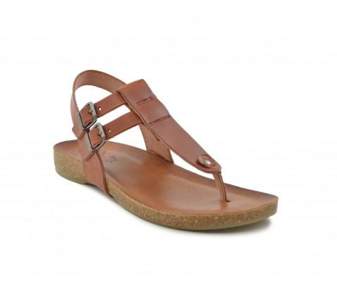 Sandalia piel Porronet 2530 cuero - Porronet