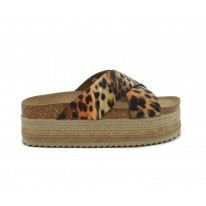 Plataforma animal print leopardo