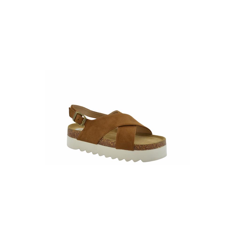 Tiras Tachuelas Drxbeco Cruzadas Cuero Plataforma Sandalia Calzados WYeHIE2D9