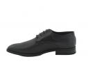 Zapato de vestir charol picado negro