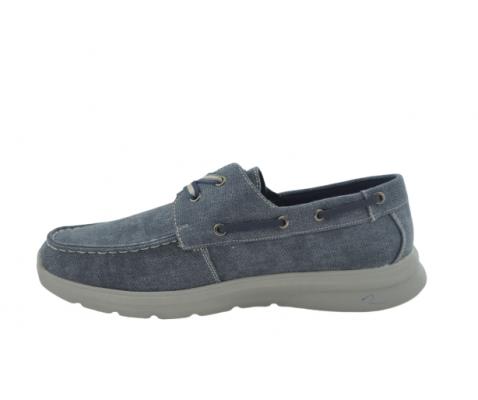 Nauticos casual piso gris jeans
