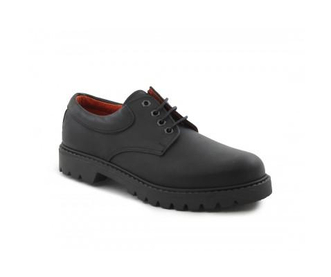 Zapato casual estilo Panama piel negro