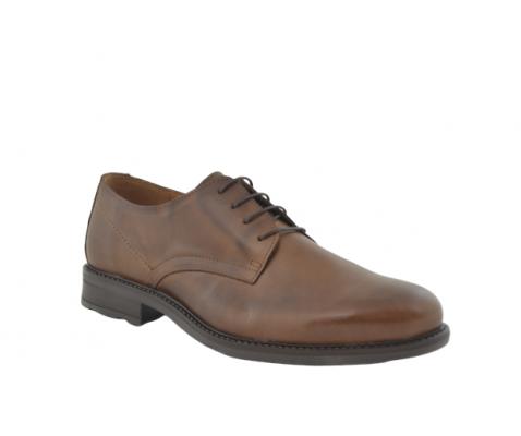 Zapato cordones de vestir marrón