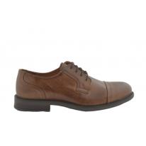 Zapato de vestir costura puntera marrón