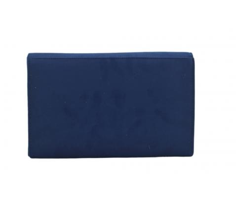 Bolso fiesta raso azul