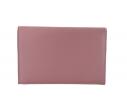 Bolso fiesta raso solapa diagonal rosa