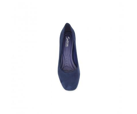 Zapato de salón puntera redonda marino