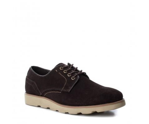 Zapato casual piel serraje Xti 48172 marrón - Xti