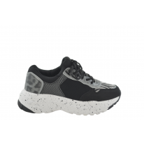 Zapatilla deportiva ugly sneakers negra