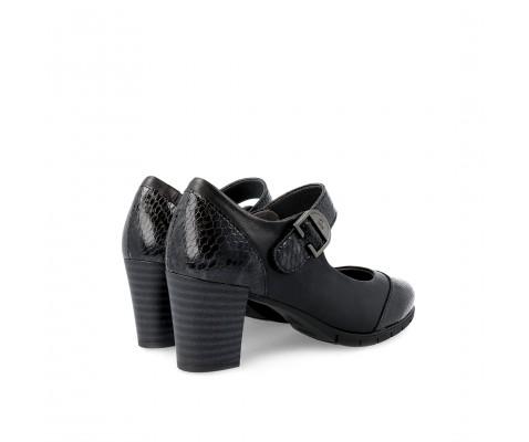 Zapato de salón Pitillo piel charol negro 5764 - Pitillo