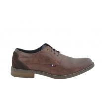 Zapato vestir oxford talón reforzado cuero