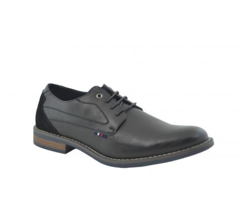 Zapato vestir oxford talón reforzado negro