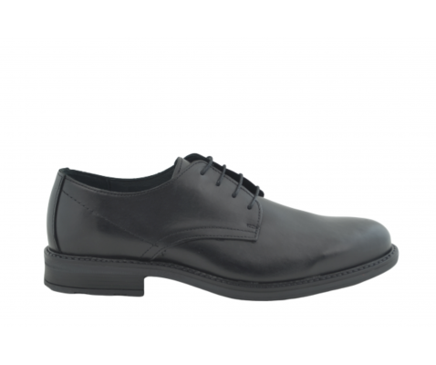 Zapato oxford de vestir piel negro