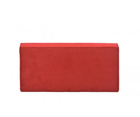 Bolso fiesta rectangular rojo