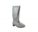 Bota de agua glitter gris