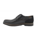 Zapato oxford piel talón reforzado negro