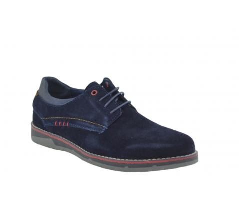 Zapato casual oxford azul marino