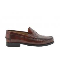 Zapatos castellanos marca Benavente antifaz piso goma cuero