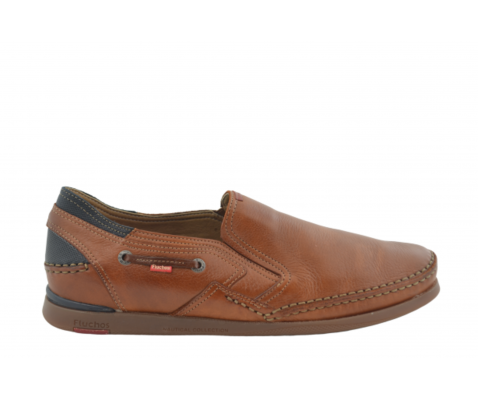 Zapato cómodo Fluchos Tornado Placa cuero - Fluchos