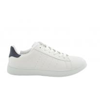 Zapatilla deportiva básica blanca