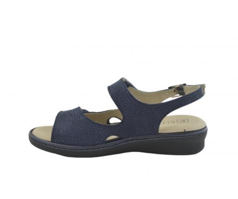 Sandalia cómoda piel Pitillos 6000 marino - Pitillos