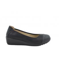 Zapato cuña cómodo negro