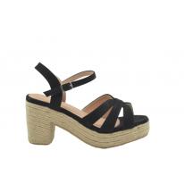 Zapato para mujer en color negro.