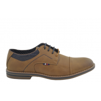 Zapato casual oxford 33022 camel