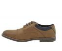 Zapato casual oxford 33022 camel