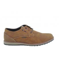 Zapato casual oxford 34042 cuero