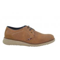 Zapato casual oxford 32071 camel