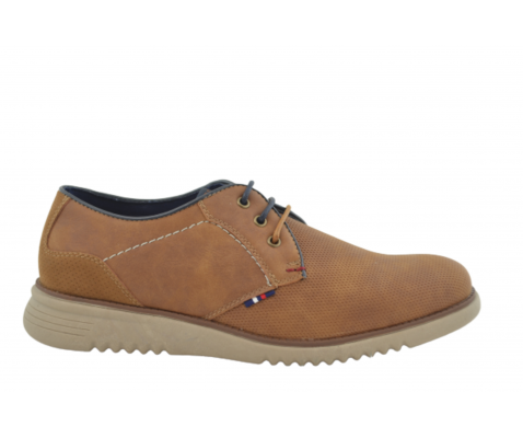 Zapato casual oxford 32071 camel