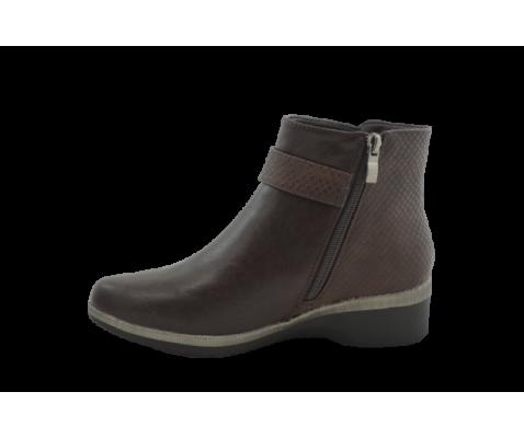 Zapato comodo marron