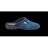 Zapatillas para el hogar en azul marino